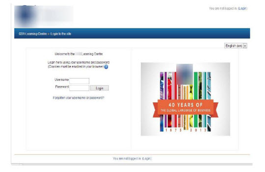 Customization of Moodle LMS