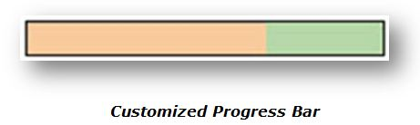 Customized Progress Bar