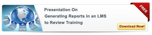 View Presentation on Generating Report in an LMS to Review Training
