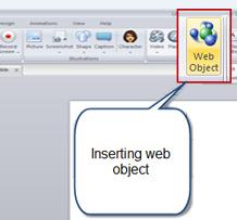 Web object