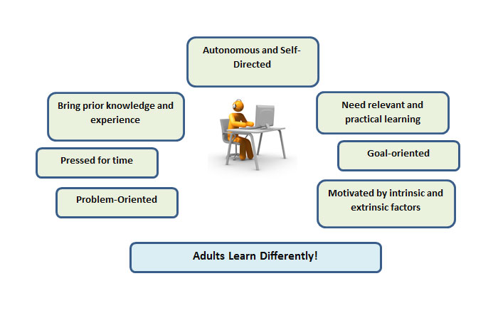 E-learning: Answering the Learning Requirements of Adults