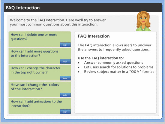 FAQ Interaction