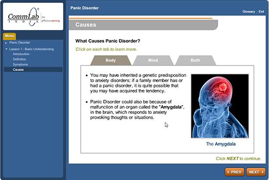 Panic Disorder Course