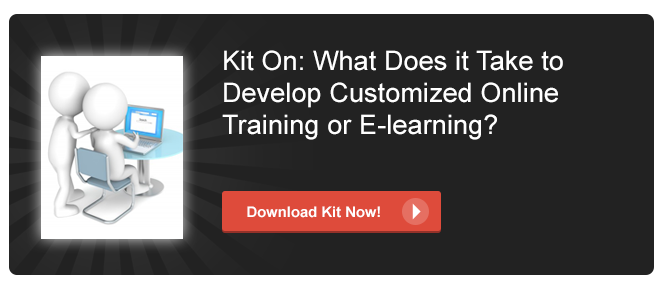 View Kit on What Does it Take to Develop Customized Online Training or E-learning
