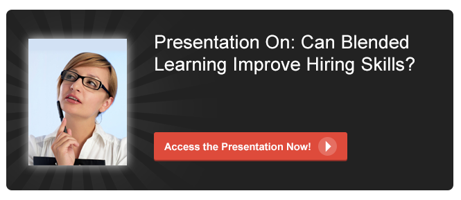 View Presentation on Can Blended Learning Improve Hiring Skills?