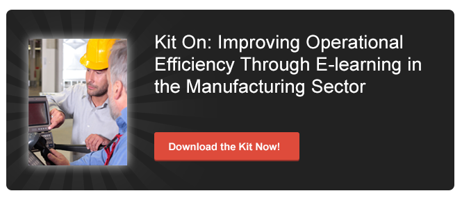 View Kit on Improving Operational Efficiency Through E-learning in Manufacturing Sector