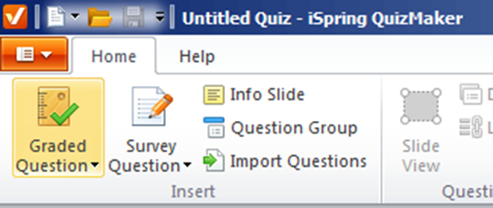 Click on Graded question