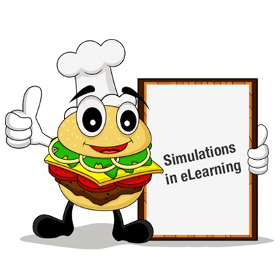 Adding Spice to Screen Simulations in E-learning Courses