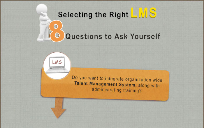 Selecting the Right LMS – 8 Questions to Ask Yourself – An Infographic