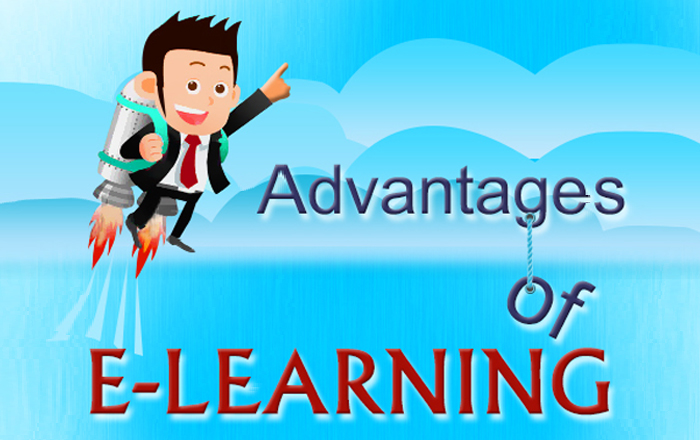 Advantages of E-learning – An Infographic