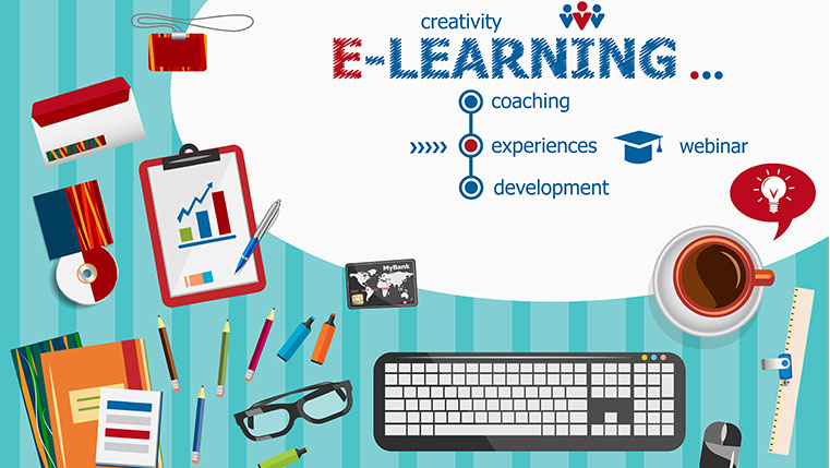 Five Tips for an Engaging E-learning Course - An Infographic
