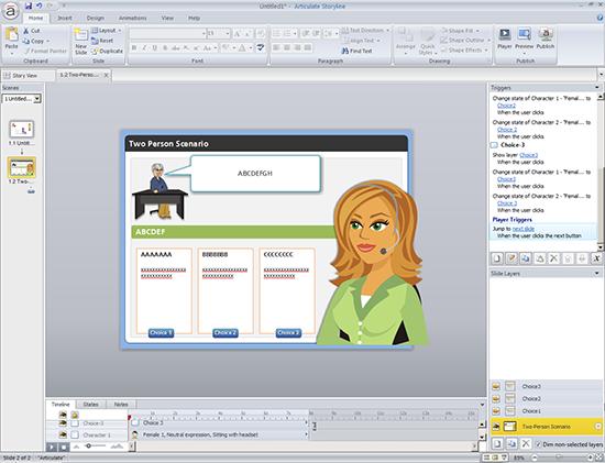 Scenario-based eLearning