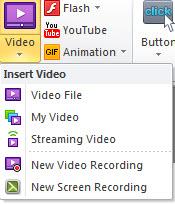 Video editor video recording