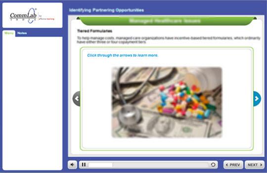 Use the slideshow type of interactivity