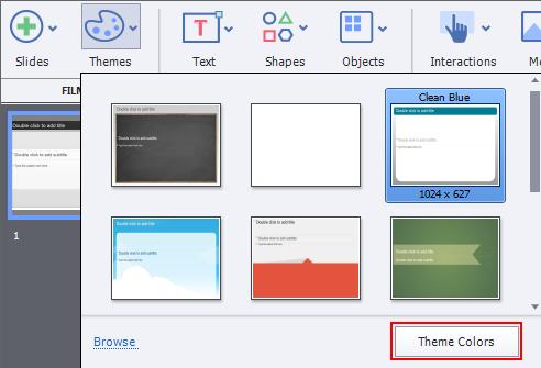 Adding themes