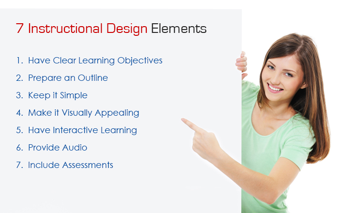 7  E-learning Design Elements that will Make a Difference