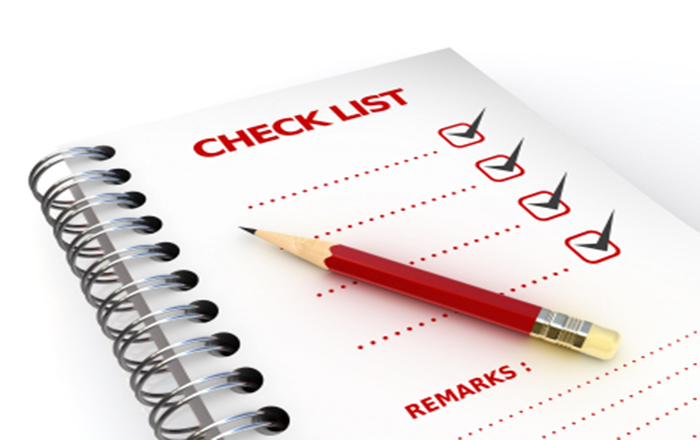 Checklist for E-learning Designing
