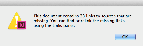 Links not found