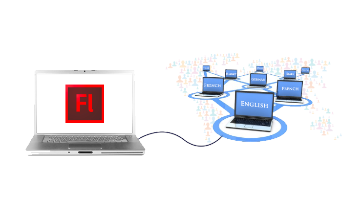 Translations of Flash E-learning Courses Made Easy with TLF Text