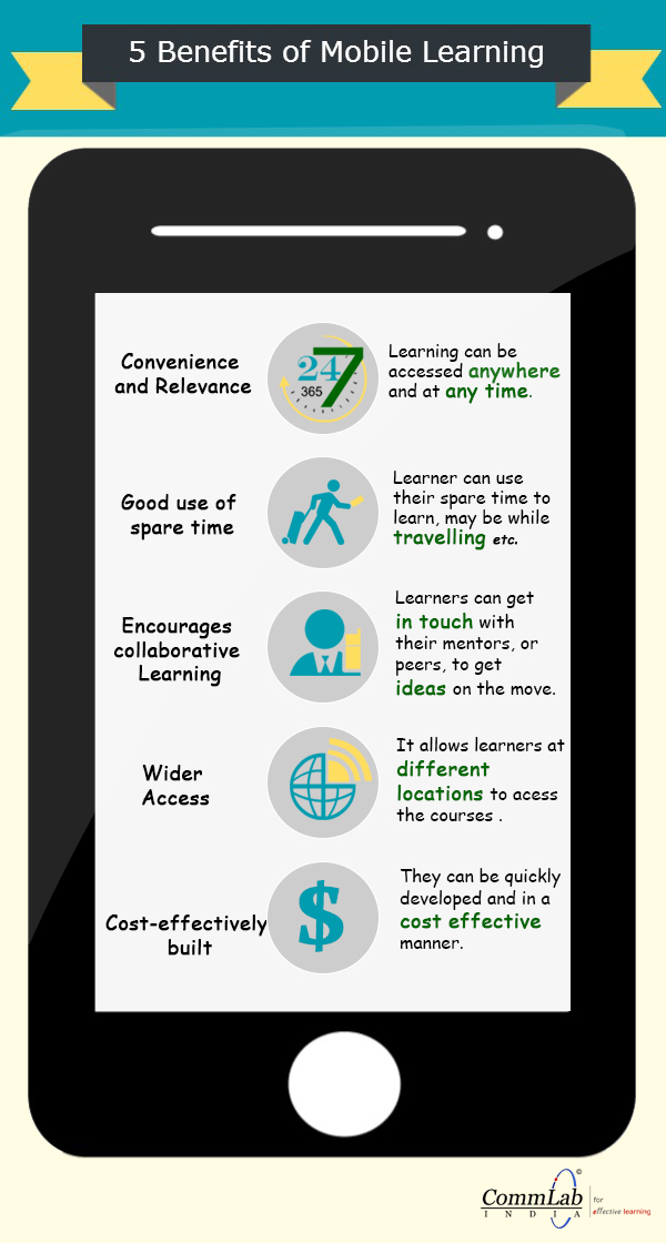 5 Benefits of Using Mobile Learning for Corporate Training – An Infographic