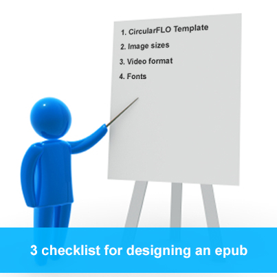 Checklist For Developing eBooks in EPUB