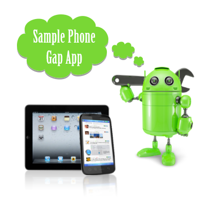 How to Setup PhoneGap and Create Sample Android App?