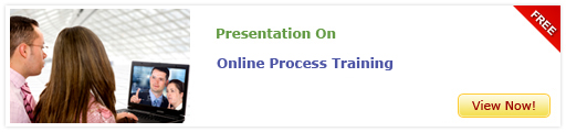 View Presentation on Online Process Training