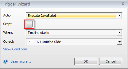execute a piece of JavaScript code