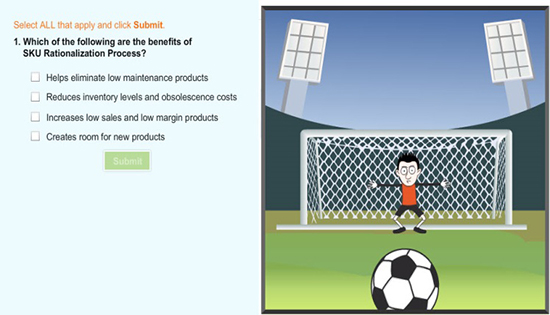 Incorporating games and effective interactivities in assessments