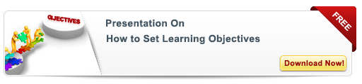 View Presentation On How to Set Learning Objectives