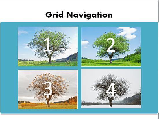 grid navigation