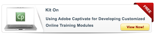View Kit On Using Adobe Captivate for Developing Customized Online Training Modules