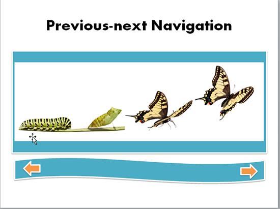 previous next navigation