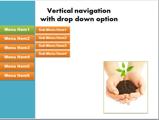 vertical navigation