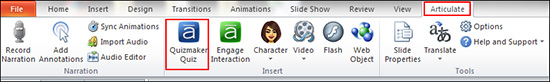 Articulate Options
