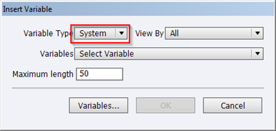 System variable