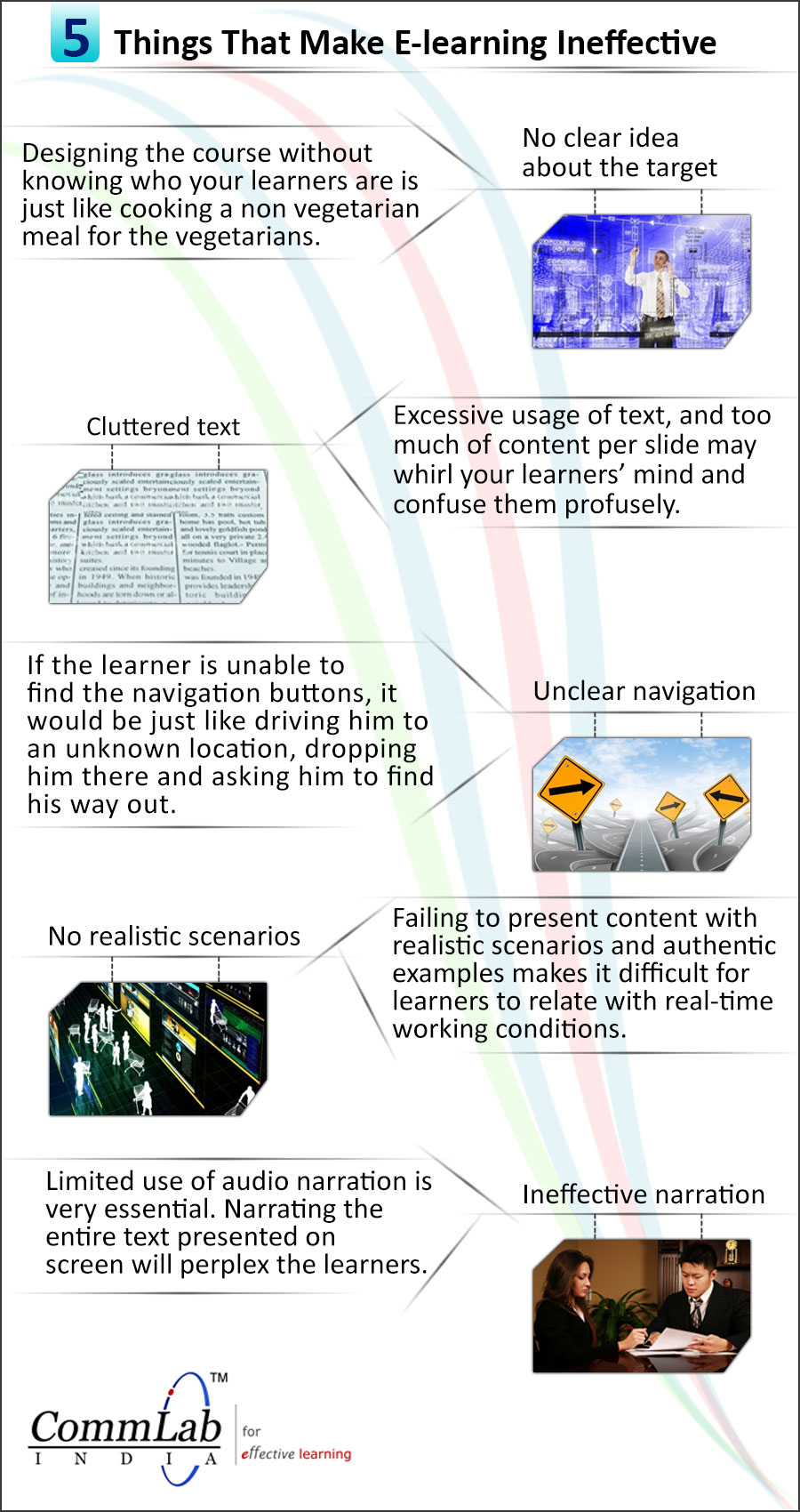 Things That Make E-learning Ineffective