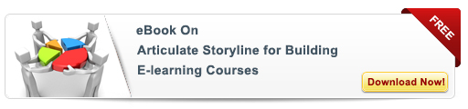 View e-book on Articulate Storyline for Building eLearning courses