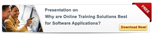 View Presentation on Why are Online Training Solution Best for Software Applications?