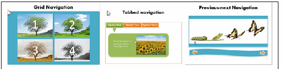 Different kinds of Navigation styles