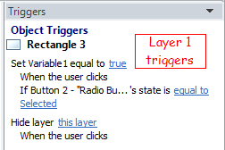 Layer1 Triggers