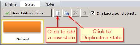 Add or duplicate state