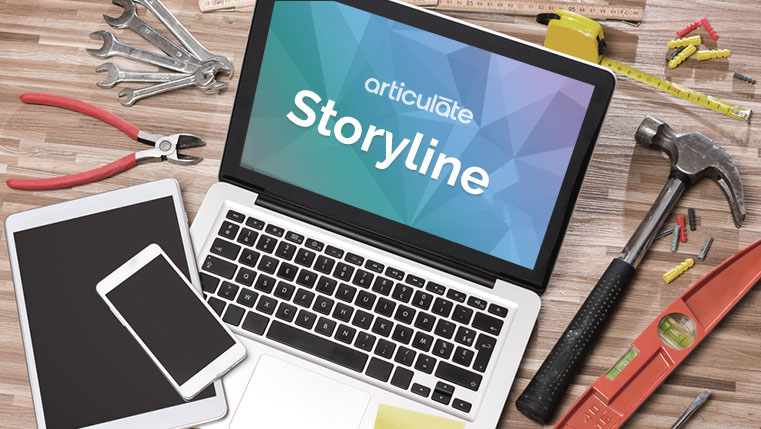 Steps to Create a Basic Interactivity in Articulate Storyline