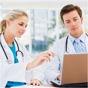 Leveraging E-learning Courses to Impart Medical Training
