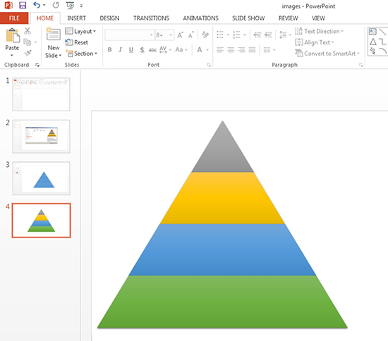 Add Colors to the Pyramid