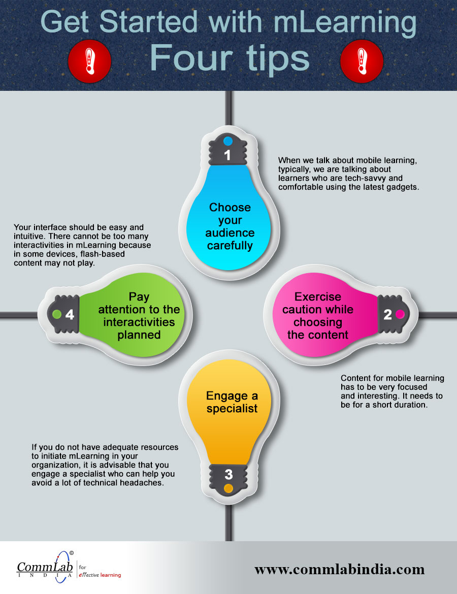 4 Tips to Get Started with M-learning – An Infographic