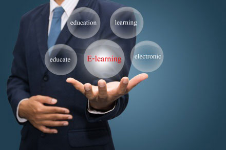 Using E-learning for Various Types of Training