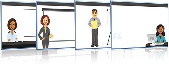 Character Display Panels