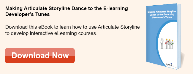 View eBook on Making Articulate Storyline Dance to the E-learning Developers Tunes
