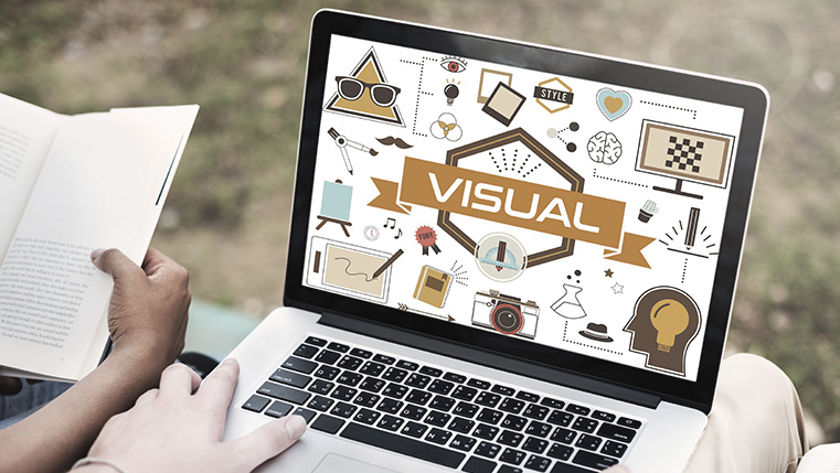 Elements of Visualization in E-learning [Infographic]